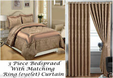 Jacquard Pillow Case Floral Bedspreads