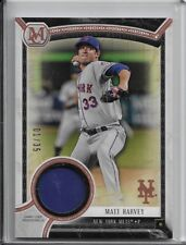 2018 Topps Museum Collection Matt Harvey Meaningful Patch /35