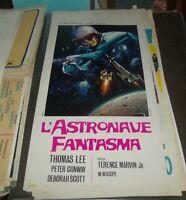 L'Raumschiff Gespenst Plakat Original 1969 Sci-Fi