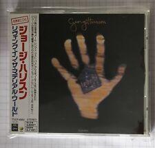 GEORGE HARRISON-Living In The Material World JAPAN CD OBI RAR! TOCP-6952 BEATLES