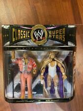 WWE Jakks Classic Superstars 2 Pack Hulk Hogan & Classy Freddie Blassie MOC WWF
