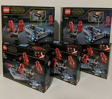 LEGO® Star Wars™ Rise of Skywalker 75266 Sith Troopers™ Battle Pack x 5