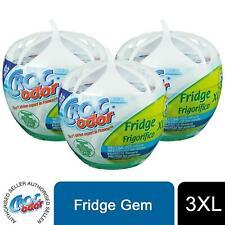 CrocOdor Fridge XL Deodorizer Neutralise Odour Eliminator Freshener, 3pk of 140g