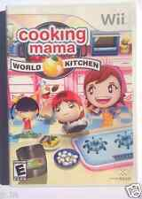 Nintendo Wii Game COOKING MAMA: WORLD KITCHEN- Used
