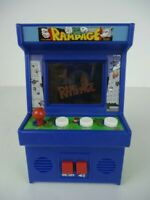 Midway Arcade Classic Game Rampage Hand Held Video - WORKS GREAT