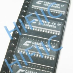 1PCS/5PCS CS8420-CS DIGITAL AUDIO SAMPLE RATE CONVERTER SOP28