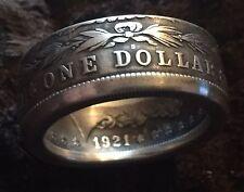 90% Silver Morgan Dollar Coin Ring