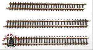 Z 1:220 scale Märklin 8592 3x Rail Of Offset Straight 100-4 23/32in
