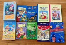 ENID BLYTON Lot 10 Books The Mysteries Amelia Jane Mr Meddle Wishing-Chair
