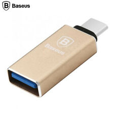 USB 3.0 Female To Type C Male OTG Adapter Aluminum Gold for Macbook Pro