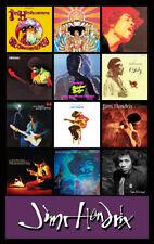 """JIMI HENDRIX album discography magnet (4.5"""" x 3.5"""") doors stones janis dylan"""