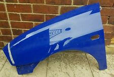 2002-2007 SEAT IBIZA NSF PASSENGERS SIDE FRONT LEFT WING IN BLUE 6L0821165