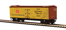 Milwaukee Road Railroad R40-2 Woodside Reefer By Mth Trains -Ho Scale -Save $