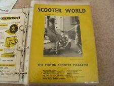 Scooter World Magazine September 1965 Lambretta, Vespa