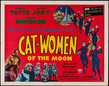 "Cat-Women of the Moon Lobby Card Movie Poster Replica 11x14"" Photo Print"