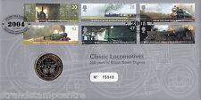 2004 Clásico locomotoras (Sellos) - Royal Mint Oficial