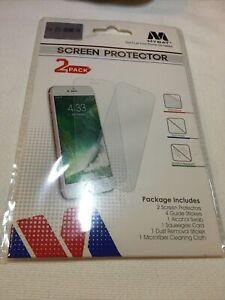 Mybat Brand Screen Protector Kit 2 Pack For ZTE GRAND X4