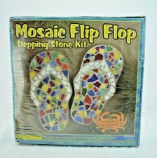 """Milestones - Mosaic Flip Flop 12"""" Stepping Stone Kit - New in Package"""