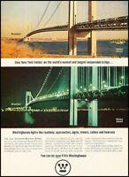 1965 Staten Island Bridge New York Vintage Advertisement Print Art Ad J655