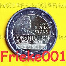 Luxemburg - Luxembourg - 2 euro 2018 comm.(Constitutie)