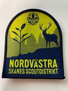 Boy Scout - Sweden Nordvästra Skånes Scout district badge