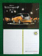 5995 Advertising Pubblicita' Cartolina Card 15x10 cm - LANCIA YPSILON MOMO AUTO