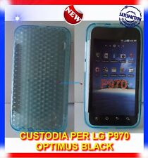 Custodia EXA-AZZURRA per LG OPTIMUS BLACK P970