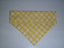 Bandana Slide On Over Collar  Pet Dog Cat  Scarf in 5 sizes XXS - L