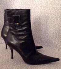 Women's Enzo Logana 6 Black Ankle Boots