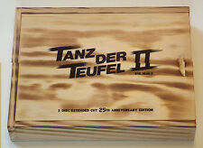 Tanz der Teufel 2 / Evil Dead II - Limited 3-Disc Extended Wood Limited Edition
