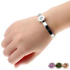 Novedad pulsera de acero inoxidable pulsera reemplazo coloreado Zircon joyas