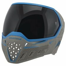 New Empire EVS Thermal Paintball Goggles Mask - Grey / Cyan Blue