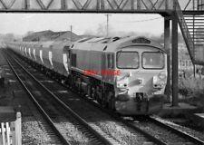 PHOTO  DIESEL BALLAST TRAIN AT  COLTHROP