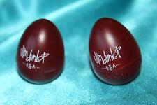 Pair of Dunlop Gel Maracas, Shaker Eggs in Red, MPN 9102