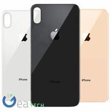 Back Cover Vetro BIG HOLE per iPhone XS MAX Scocca Retro CopriBatteria Nuova