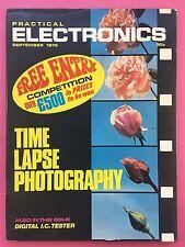 PRACTICAL ELECTRONICS - Magazine - September 1975 - Time Lapse Photography