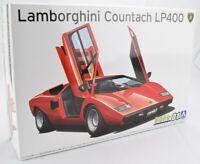 Aoshima 1974 Lamborghini Countach LP400 #01 1/24 Plastic Model Car Kit 05804