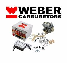 Dodge Mitsubishi Mazda 32/36 DGEV Carburetor Conversion Kit Electric Choke Weber