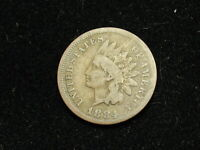 MARKED DOWN!!  1884 INDIAN HEAD CENT PENNY * NICE COLLECTIBLE U.S. COIN #22H