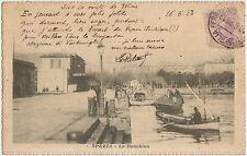 SPEZIA - LA BANCHINA 1923