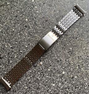 Vintage NOS SS Bulova Accutron Watch Bracelet 19mm End Links