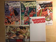 Wonder Woman 1 2 3 Signed 36 Darwyn Cooke Variant 37 Blank Sketch DC New 52 2011