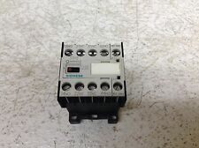 Used 24VDC Coil 3TB42 17-0B Warranty Siemens 22E Contactor