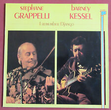 STEPHANE GRAPPELLI  BARNEY KESSEL   LP ORIG FR  I REMEMBER DJANGO