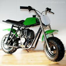 Gas powered mini bike - dirt bike for kids - no mixing oil - free shipping green