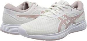 asics patriot 11 women white/ watershed rose size 7 uk new eday comfort RRP £45