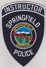 Springfield OR Police DARE Instructor patches
