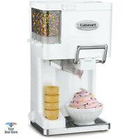 Cuisinart Ice Cream Maker Home Icecream Machine Yogurt Dispenser Frozen Sorbet