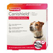 Canishield Beaphar - CONFEZIONE 2 Collari per Cani di Piccola e Media Taglia