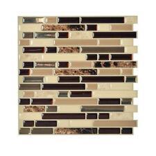 Smart Tiles SM1034-1 SELF-ADHESIVE WALL TILES 1/SHEET BELLAGIO KEYSTONE 0.7 sq/f